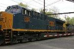 CSX 3380 on K139